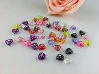 9*9*5mm 500pcs/lot Mixed Color Acrylic beads Acrylic The Triangle Shape Beads For DIY, Free Shipping