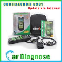 Promotion price U381 OBDII/EOBDII Memo Scanner(live data) U381 Code reader U 381
