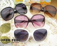 50PCS/lot  Popular  Large frame sunglasses Ms. Frog mirror  Free shipping