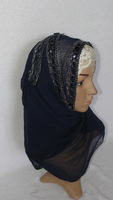 (free shipping)New Muslim headscarf long towel/covering/fashion/fabric/pastoral