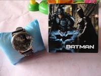 retail 1pcs Batman Watch Wristwatches WITH Free Boxes