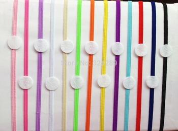 Free Shipping wholesale 50pcs  DIY Skinny Stretch Headband Flower Flat pad Elastic Headband with felt Circle Hair Accessories