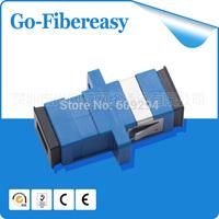 Free Shipping 30pcs/lot Fiber Optical Adapter SC Fiber Coulper Single Mode Simplex Fiber