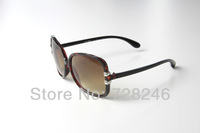 fashion  big frame slim leg WOMEN Sunglasses GU   design UVA  UVB  UV400 CH8030 hawksbill free shipping