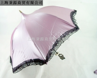 Umbrella anti-uv structurein sun protection umbrella three fold lace apollo umbrella sun umbrella