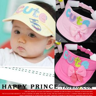 Child hat baby visor baby hat sunbonnet summer cap