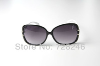 fashion  big frame slim leg WOMEN Sunglasses GU   design UVA  UVB  UV400 CH8030 black  free shipping