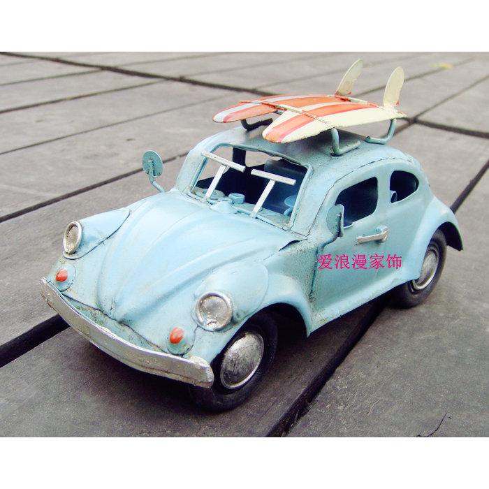Nostalgic handmade small skateboard the beatles vintage metal classic cars model decoration toy gift(China (Mainland))