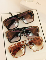 Ultralarge a1 personality sunglasses star style sunglasses fashion vintage fashion big glasses