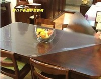 Scrub 1.5mm thickness soft glass crystal table mat table cloth table mats width 80cm