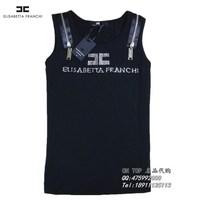 Free Shipping Exquisite diamond elsabetta franchi logo women's vest