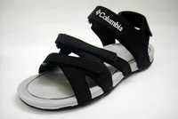 Casual genuine leather sandals male plus size shoes sandals