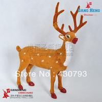 Christmas tree supplies christmas elk car  400g 35*26cm