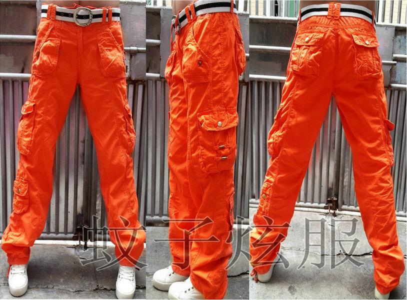 Awesome Orange Standard Women39s Laguna Cargo Scrub Pant  Allheartcom