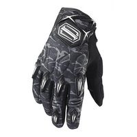 Men Shift Stealth Driving Pilot Racing Bicycle Motorcycle Cycling Leather Gloves