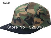 Wholesale 10pcs 5 Panels Men Women Camouflage Baseball Caps Mens Sports Camo Flat Fit Snapbacks Hats Flat Bill Hat Snap Back Cap