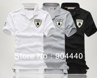 Hot explosion models factory direct Lamborghini Bull Men's Short Sleeve T-shirt men's POLO SHIRT  T-shirt brand