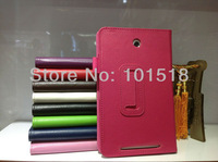 20pcs/lot&free shipping Leather Case Cover Skin For ASUS memo pad hd 7 me173x holsteins 7 tablet