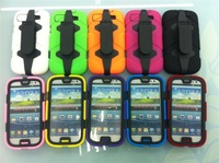 2013 10pcs/lot New Carapace style Survivor cell phone case for samsung galaxy s3 9300 case free shipping