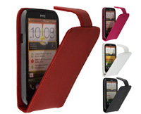 Fashion Luxurious Flip Leather Case For HTC Desire X T328e HTC Desire V T328w
