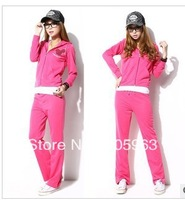 Free shipping  Fashion Women Hoodies Sweatshirts Female Sport Suits Sport Set Tracksuit dropship