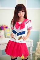 British style student clothing japanese style sailor suit cos game uniforms set temptation costumes school wear