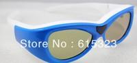 G07-DLP 3d projection glasses for children ,supply DLP link communication projetor signal TV (sony,panasonic, sharp, samsung)