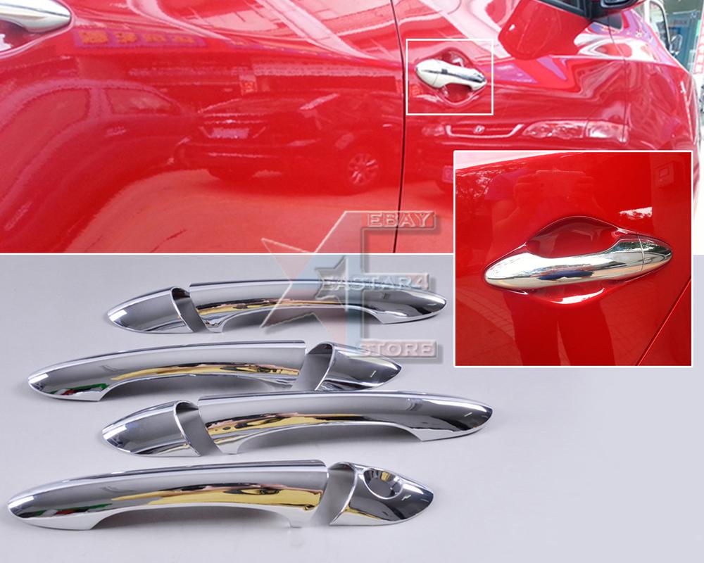 Fast shipping & Tracking # New Chrome Door Handle Cover Trim for Hyundai Sonata 8 i45 2011 2012 2013 - CA00542(China (Mainland))