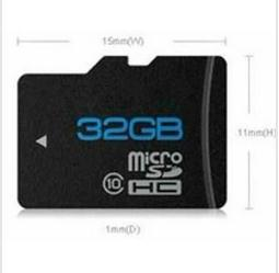 Wholesale - - Free Shipping NEW 32GB Micro SD Micro SDHC Class C 10 TF Flash Memory Card+Free Adapte