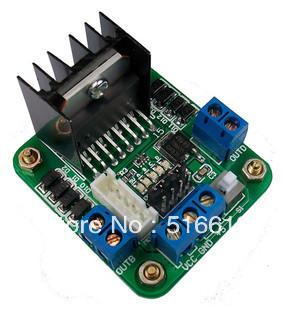 free shipping 10 pcs/lot Original chip L298N motor driver board/L298 stepper motor, dc motor drives