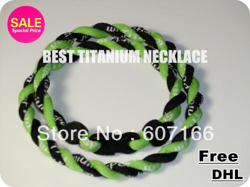 Titanium Basketball baseball football 2 rope tornado twist necklaces Only necklace ,No box(China (Mainland))