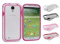 Clear Bumper TPU Cover Transparent Bumper Case for Samsung Galaxy S4 IV I9500