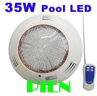 36W RGB aquarium pool led light IP68 Swimming pool underwater Lamp Wall mounted Fountain AC 12V Free Shipping by DHL 2pcs