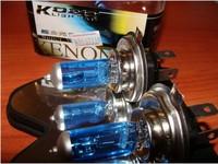 H4 100W 1000-Lumen 6000K White Car Light Bulbs (2-Pack/DC 12V)