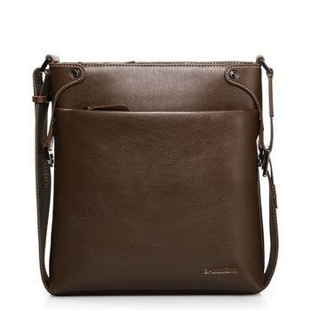 2014 Hot  Men' Messenger Bag Cowhide Handbag LeatherBag  Designer Brand Messenger Bag Hot Selling Free Shipping