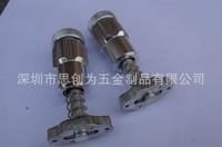 Quick locks spring locks for rental led display iron die casing aluminum cabinet, led curtain cabinet