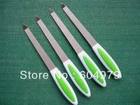 Wholesale / Free Shipping Nail Tool Metal Nail File,Emery board  15cm 12pcs/bag