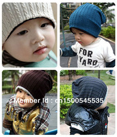 wholesale 10pcs/lot thread kids hats infant cap Cotton Beanie children baby Hat