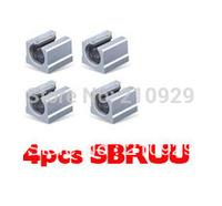 4 SBR10UU Linear guides rail bearings block