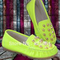 2013 children shoes casual  Boys & Girls single shoes Fluorescent color SIZE 26-35