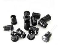 100pcs 5mm Plastic Black LED Cover Free shiping Hot sales parts TOP10   LED Plastic holder