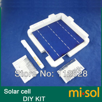 40 pcs POLY 6x6 4.14W solar cells DIY kit for solar panel, flux pen, bus tabbing