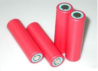 2PCS/lot Sanyo 18650 3.7V  2600mAh Li-ion rechargeable Battery