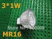 MR16 3W LED spotlight  warm white  cool white 12V
