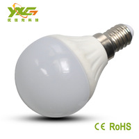 High quality 4pcs/lot Ceramic led lamp 110v 220v warm & cool white 270lm LED E14 3w bulb light Wholesale Free shipping