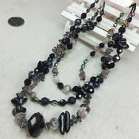 Jewelry accessories fashion quality black short design necklace fashion chain 57