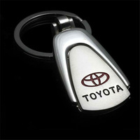 Mix Order Car Keychain For TOYOTA Water Drop Shape Auto Key Chain Ring Keyring Miss Cherry