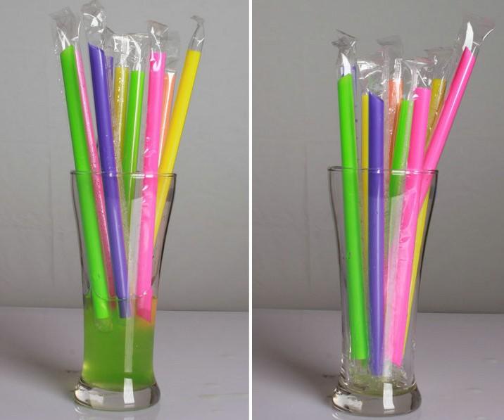 bubble tea straws walmart