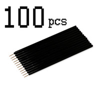100 Pcs Disposable Eyeliner Cosmetic Brush Applicator