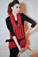 960 Gorgeous Shining 2pcs Black T-shrit+red dress unseperatable Women Sexy Party Mini dress quality gurantee